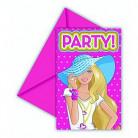 Cartas de invitación Barbie Cute Dollicious™