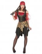 Disfraz de pirata para mujer bucanera