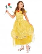 Disfraz de princesa amarillo para niña