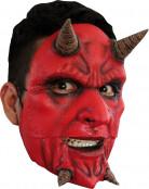 Máscara de demonio loco adulto Halloween