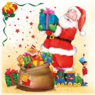20 Servilletas Papá Noel