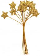 Ramo 12 estrellas oro