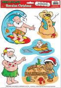 Pegatinas Navidad en Hawái