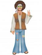 Figurilla de hombre hippie