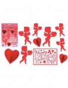 Decoración roja San Valentín