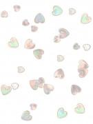 Confetis corazones relieve