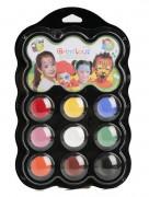 Paleta 9 colores de maquillaje Carnaval Grim Tout
