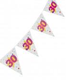 Guirnalda banderines 30 años