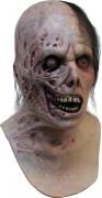 Máscara de zombie quemado adulto Halloween