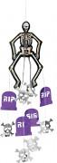 Decoracíon colgante esqueleto Halloween