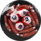 Plato ojos Halloween