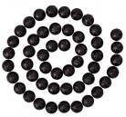 Guirnalda de bolas brillantes negras