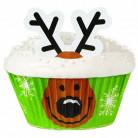 24 Moldes para cupcakes reno Wilton™