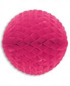Bola de papel rosa