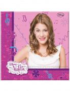20 Servilletas de papel Violetta™ 33x33 cm