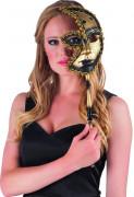 Semi máscara veneciana para adulto