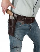 Cinturón con funda de vaquero adulto