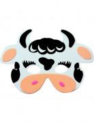 Máscara de vaca para niño o niña