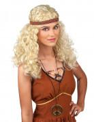 Peluca Hippie rubia mujer