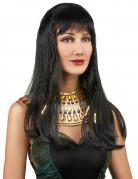 Peluca de reina Egipcia mujer