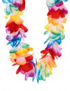 Collar Hawái multicolor de lujo