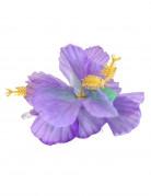Horquilla flor violeta Hawái