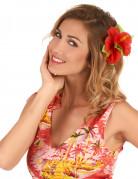 Pasador flor roja Hawái