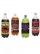 Lote de 4 etiquetas para botellas