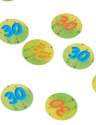 150 Confetis de mesa 30 años