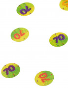 150 Confetis de mesa 70 años