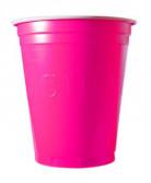 20 Vasos americanos Original Cup rosa