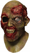 Máscara integral zombie tuerto adulto