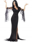 Disfraz Halloween bruja encaje mujer