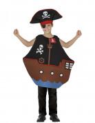 Disfraz pirata del océano niño