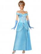 Disfraz princesa azul mujer