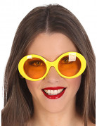 Gafas hippies amarillas