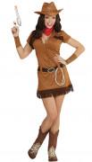 Disfraz vaquero del oeste mujer