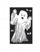 Decoración de ventanas fantasmas o esqueletos Halloween
