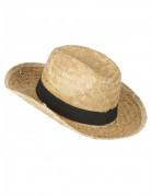 Sombrero cowboy paja niño