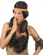 Peluca india para mujer