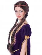 Peluca medieval mujer