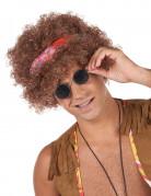 Peluca afro hippie hombre 130 g