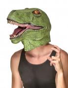 Máscara látex dinosaurio adulto