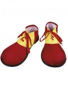 Zapatos payaso rojos adulto
