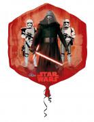 Globo aluminio rojo y azul Star Wars VII™ 55x58 cm