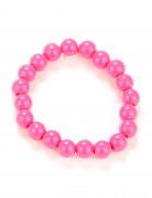 Pulsera perlas rosa adulto