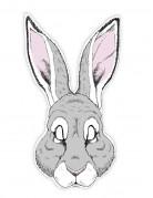 Máscara papel conejo