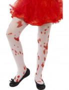 Medias ensangrentadas niña Halloween