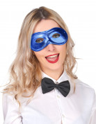 Antifaz azul eléctrico adulto