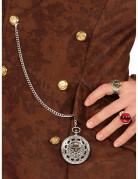 Medallón cadena pirata adulto